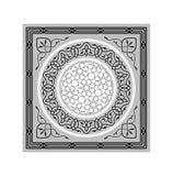 Vecteur Ramadan Ornaments Grayscale islamique Images stock
