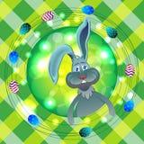 Vecteur rond de Pâques Image stock