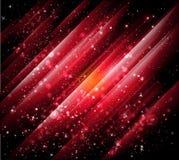 Vecteur rouge abstrait de milieux   Photographie stock