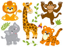 Vecteur Safari Animals Photos libres de droits