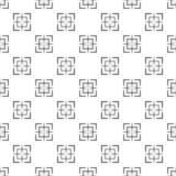 Vecteur sans couture de modèle carré de cible illustration stock