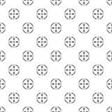 Vecteur sans couture de modèle de cercle de pousse illustration libre de droits