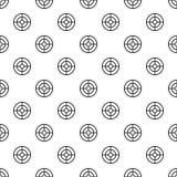 Vecteur sans couture de but de modèle futuriste de portée illustration de vecteur