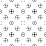 Vecteur sans couture de modèle important de cible illustration libre de droits