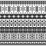 Vecteur sans couture ethnique d'illustration de modèle d'Ikat illustration libre de droits