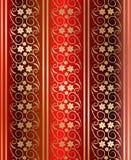 Vecteur sans joint rouge de texture Image libre de droits