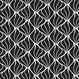 Vecteur Shell Abstract Seamless Pattern Art Deco Style Background Texture géométrique illustration libre de droits