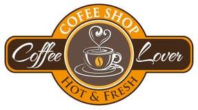 Vecteur, symbole de café Image stock