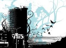 Vecteur urbain de ville illustration libre de droits