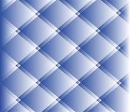 Vecteur vérifié sans couture bleu et blanc Image libre de droits