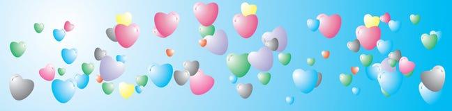 Vecteur, valentine, décoration, ornement, pétale, amour, illustrati illustration libre de droits