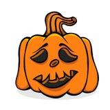 Vecteur veille de la toussaint pumpkin Photo stock
