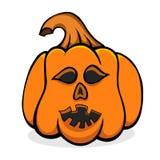 Vecteur veille de la toussaint pumpkin Photos libres de droits
