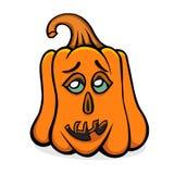 Vecteur veille de la toussaint pumpkin Photos stock
