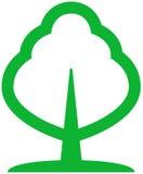 vecteur vert d'arbre d'illustration illustration stock