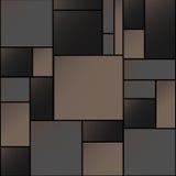 Vecteur vide carré coloré du fond EPS10 Photos stock