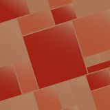 Vecteur vide carré coloré du fond EPS10 Images stock