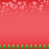 Vecto Christmas background Royalty Free Stock Images
