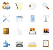 Vecto Icon Set - Internet And Blogging 2 Stock Photography