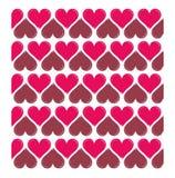 Vectoe heart shaped background Royalty Free Stock Photos