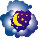 Vectoor księżyc Zdjęcie Royalty Free