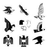Vector águias Foto de Stock
