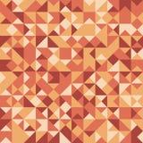 Vector абстрактная безшовная картина с случайно красить треугольниками иллюстрация вектора