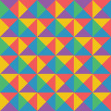 Vector абстрактная красочная геометрическая картина ретро и st стиля Арт Деко Стоковые Фото