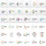 Vector абстрактные идея логотипа, концепция времени или значок дела часов Творческий шаблон дизайна логотипа бесплатная иллюстрация