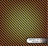 Vector апельсин волокна углерода картины безшовный под маской для продукции фильма с текстурой Стоковая Фотография RF