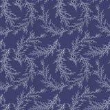 Vector безшовная картина сделанная ветвей нарисованных рукой Monochrome ботаническая винтажная иллюстрация вектора Свадьба вектор Стоковое фото RF