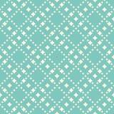 Vector безшовная картина с формами диаманта, звезды Абстрактная предпосылка в ультрамодных пастельных цветах, зеленом цвете aqua  иллюстрация вектора