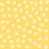 Vector безшовная картина с яичками, плоский стиль Стоковая Фотография RF