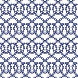 Vector безшовная картина цепей в плоском стиле Иллюстрация вектора