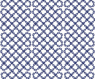 Vector безшовная картина цепей в плоском стиле Иллюстрация штока