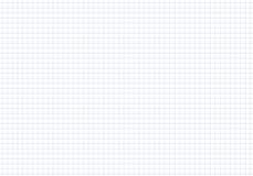 Vector безшовная книга тренировки бумаги картины в клетке Лист тетради текстуры Стоковое Фото