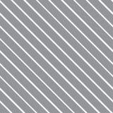 Vector безшовная текстура с наклонять серые и белые линии иллюстрация штока