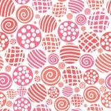 Vector безшовная ткань точки польки картины, backgroud, textu Стоковые Изображения RF