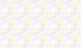 Vector белая дизайна геометрическая & серая абстрактная предпосылка Серая предпосылка мозаики решетки Стоковые Изображения