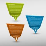 Vector бумажная предпосылка прогресса Стоковое Изображение