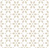Vector геометрическое золото и белая картина в японском стиле флористический орнамент иллюстрация вектора