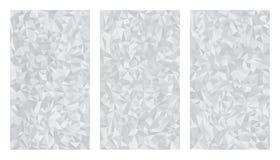 Vector задняя часть фольги металла абстрактной низкой полигональной серой шкалы алюминиевая бесплатная иллюстрация