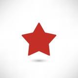 Vector звезда зеленого стекла Стоковое Фото