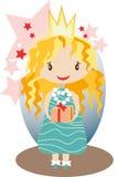 Маленький славный princess бесплатная иллюстрация