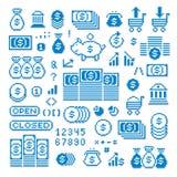 Vector изолированные значки, собрание пиксела элементов графика 8bit