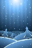 Vector иллюстрация карточки Новый Год с экземпляр-космосом для вашего te бесплатная иллюстрация