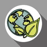 Vector иллюстрация зеленого цвета Think, editable значка Стоковое фото RF