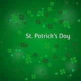 Vector иллюстрация предпосылки дня ` s St. Patrick Стоковые Фотографии RF