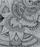 Vector иллюстрация чертежа на свете - серой предпосылки doodle Стоковое Изображение RF
