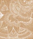 Vector иллюстрация чертежа doodle на светлой бежевой предпосылке Стоковые Фото